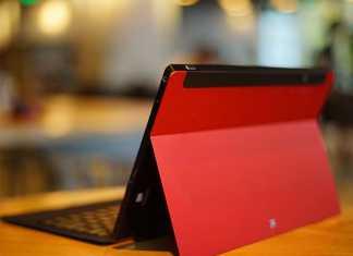 La tablette tactile Remix de la Microsoft Surface 1