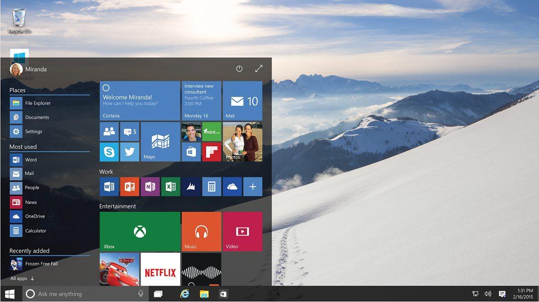 Windows 10 : la mise à jour payante pour les grandes entreprises