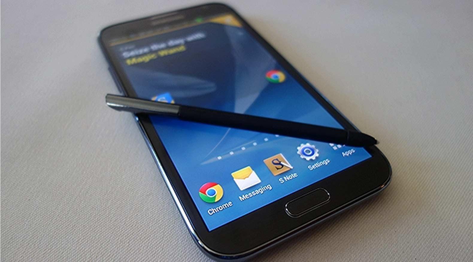 Samsung Galaxy Note 2 : passage vers Android 5.0 Lollipop à venir !