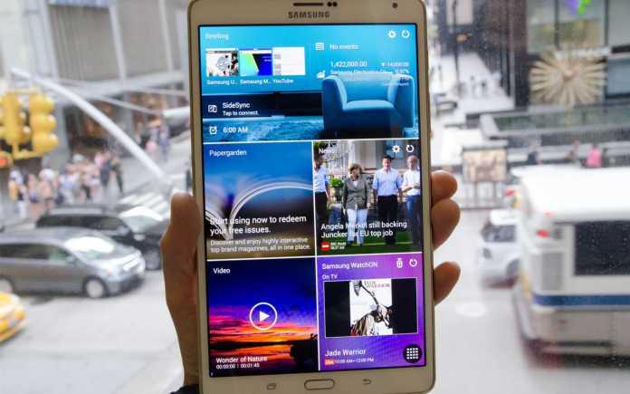 Tablette Samsung Galaxy Tab S2 : les spécifications techniques fuitent sur le web 2