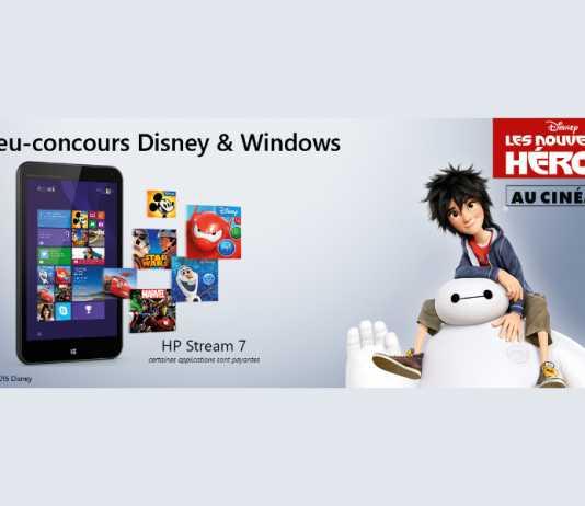 Les Nouveaux Héros : Concours pour gagner une tablette HP Stream 7 3