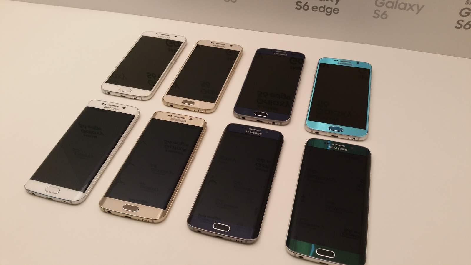[MWC 2015] Prise en main des smartphones Samsung Galaxy S6 et Galaxy S6 Edge
