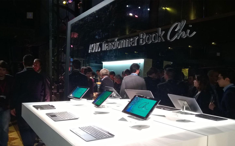 Asus lance officiellement sa gamme de tablette Book Chi en France