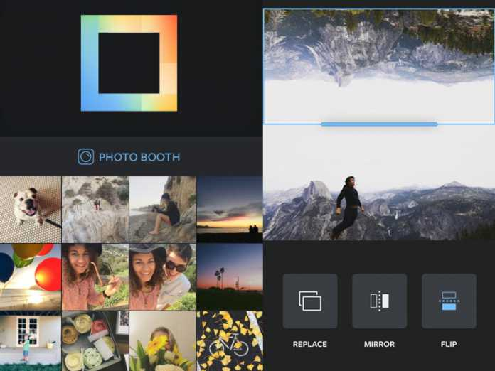 Instagram lance l'application de photomontage Layout 3