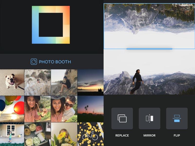 Instagram lance l'application de photomontage Layout