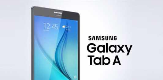 Samsung présente les tablettes Galaxy Tab A 1