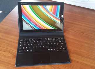 Test de la tablette Lenovo Miix 3 4