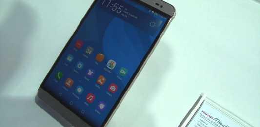 [MWC 2015] Huawei MediaPad X2, entre la phablette et la tablette tactile 13