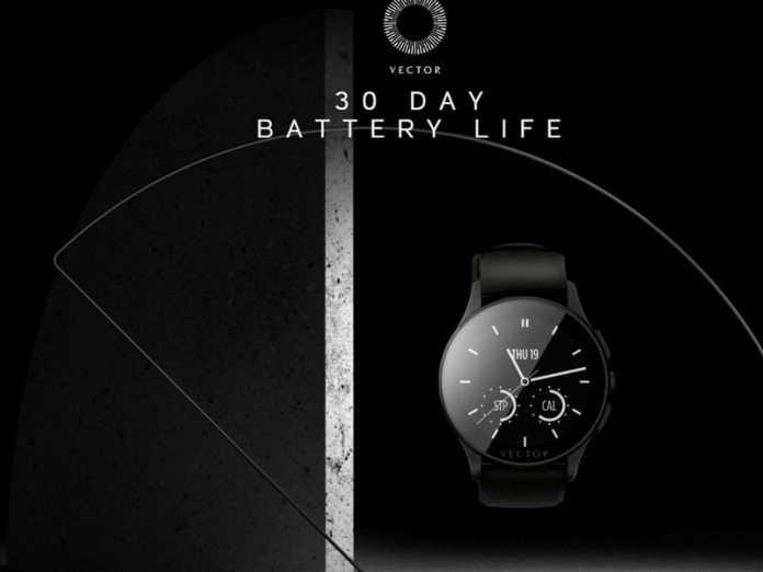 La smartwatch Vector propose une autonomie d'un mois ! 2