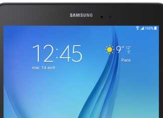 La Samsung Galaxy Tab A sera bien dispo pour la France 4