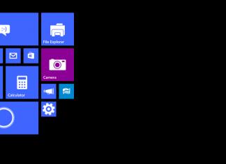 Windows 10 se révèle sur des tablettes de moins de 8 pouces 10