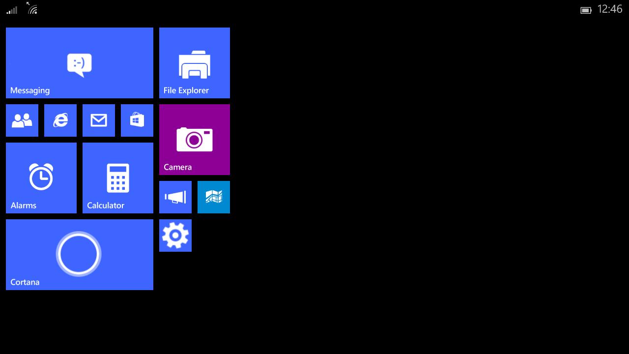 Windows 10 se révèle sur des tablettes de moins de 8 pouces