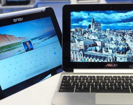 Chromebook Flip, un notebook hybride sous Chrome OS de 10 pouces par Asus 2