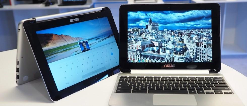 Chromebook Flip, un notebook hybride sous Chrome OS de 10 pouces par Asus