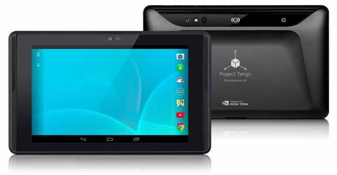 Projet Tango : Google divise le prix de sa tablette par deux 4