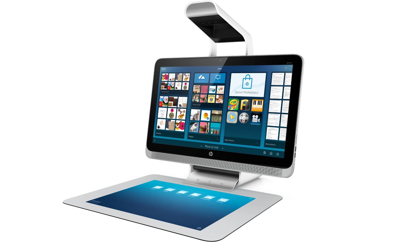 HP Sprout : le tout nouveau concept All-in-One disponible en France