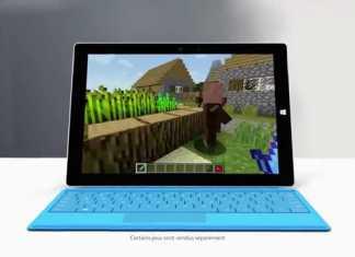 Surface 3 : Première publicité pour la nouvelle tablette Microsoft