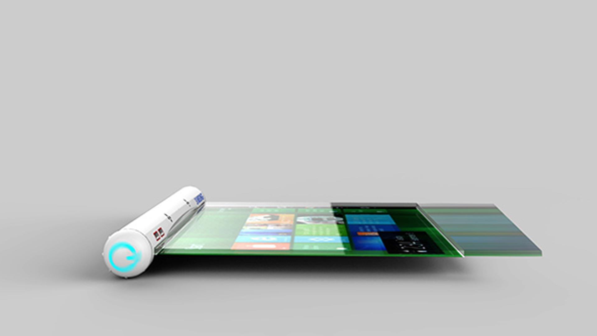 un nouveau concept de tablette tactile chez samsung. Black Bedroom Furniture Sets. Home Design Ideas