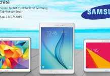Promo Samsung : jusqu'à 65€ de remboursement sur l'achat de votre tablette Galaxy Tab 6
