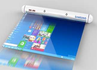 Un nouveau concept de tablette tactile chez Samsung 2