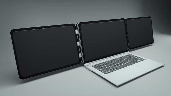 Sliden'Joy : doublez la taille de votre écran de PC Portable ! 3