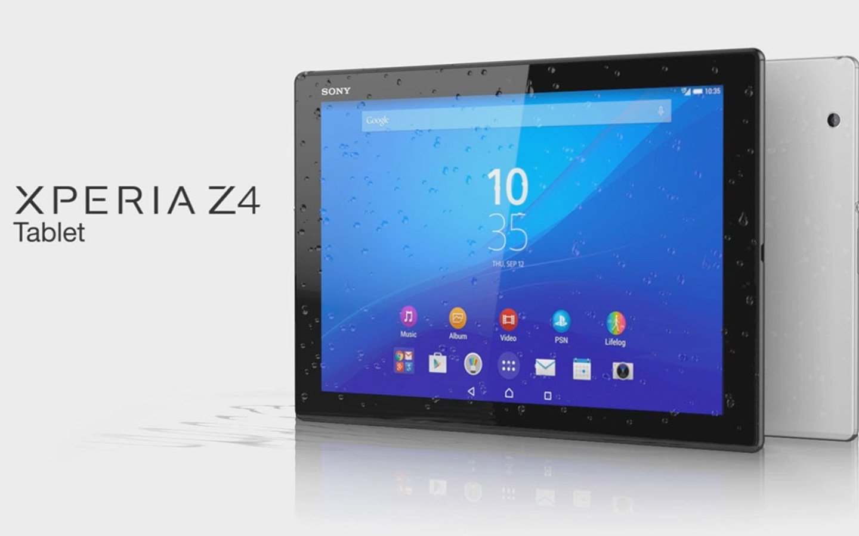 La tablette Sony Xperia Z4 Tablet sortira le 29 juin prochain