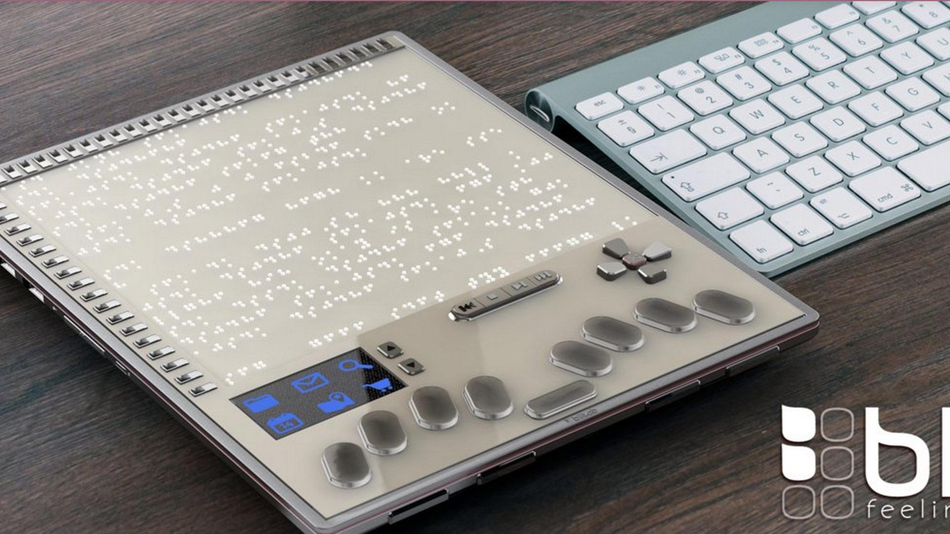 BlitLab : Une tablette tactile révolutionnaire pour les malvoyants