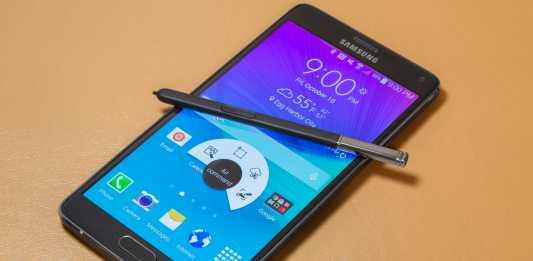 Samsung Galaxy Note 4 : mise à jour Android 5.1.1 pour juillet 2