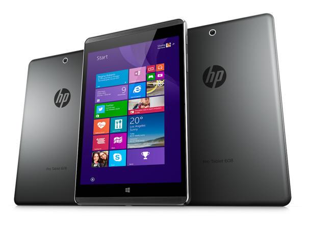 Un prix pour la HP Pro Tablet 608 sous Windows 10