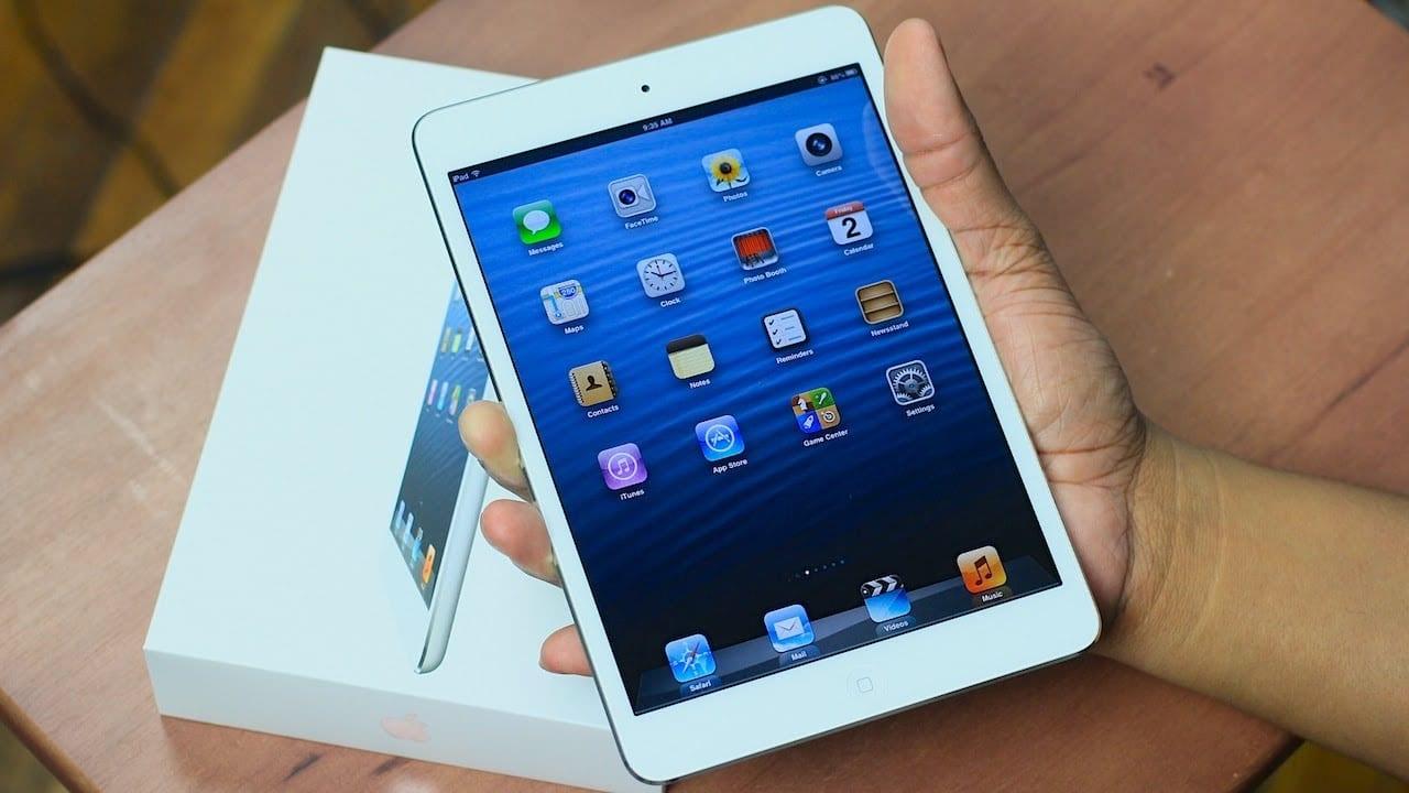 iPad Mini : Apple supprime le dernier device non-Retina de son catalogue