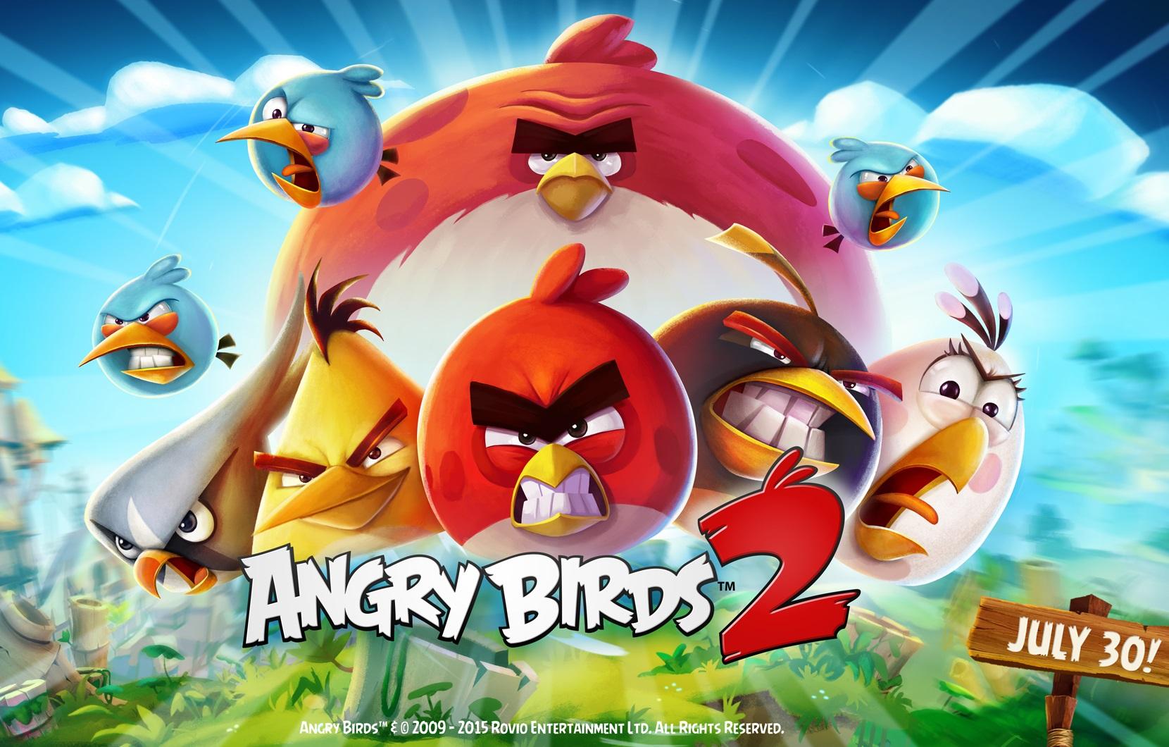 Angry Birds 2 débarquera sur nos tablettes le 30 juillet