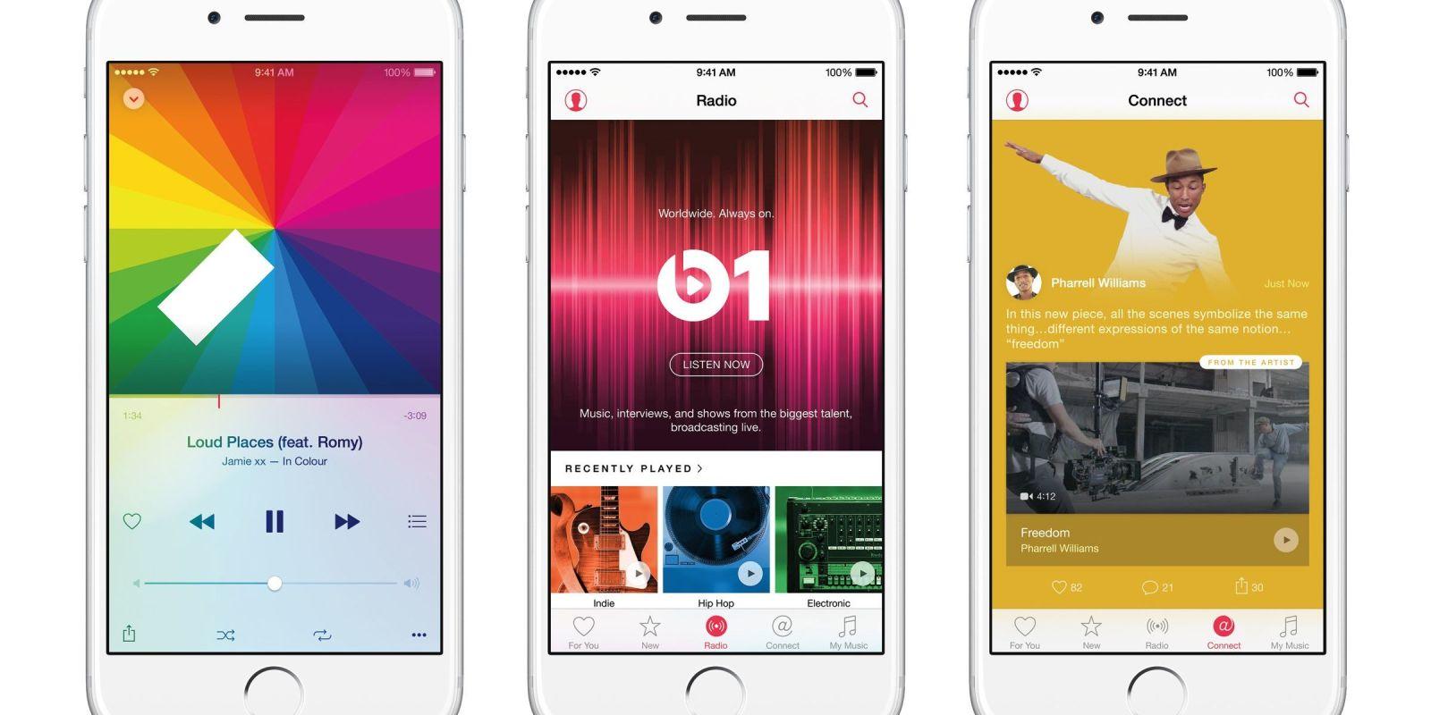 iOS 8.4, apportant Apple Music, est disponible
