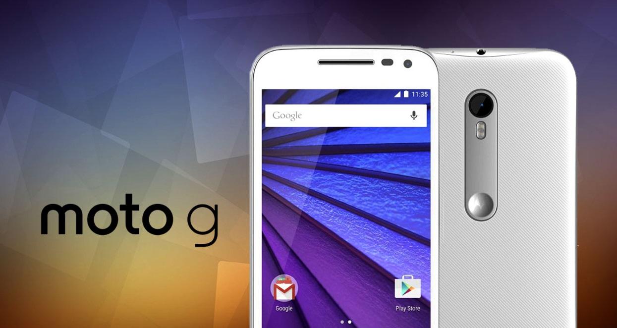 Motorola Moto G : la troisième génération se dévoile