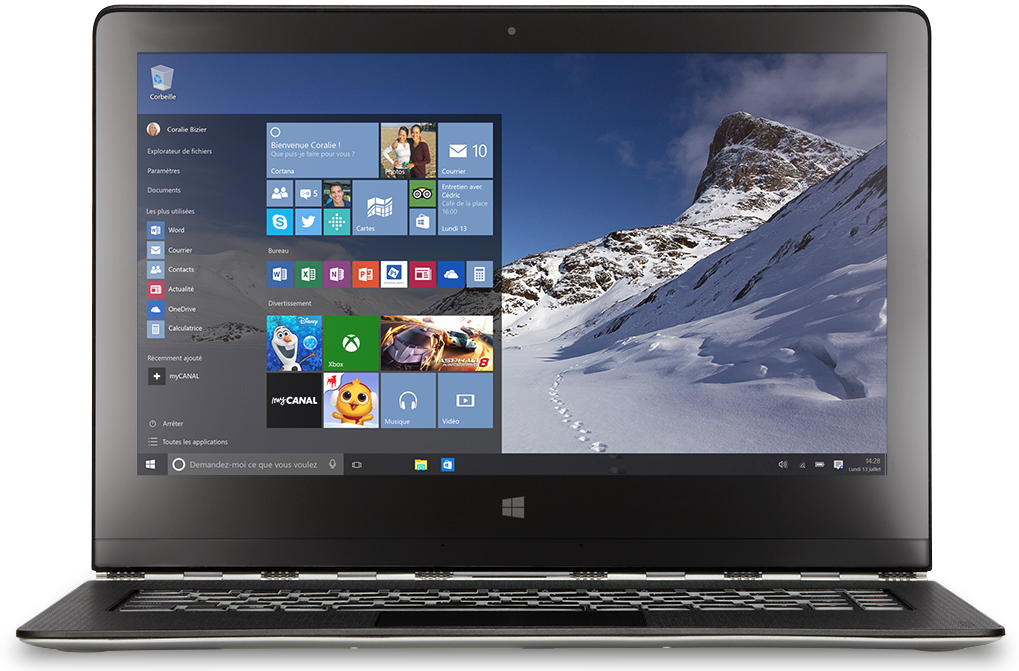 Windows 10 : moi j'y vais !