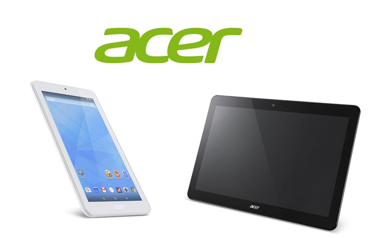 Iconia One 7 et Iconia One 10 : les premières photos de la nouvelle gamme de tablette d'Acer