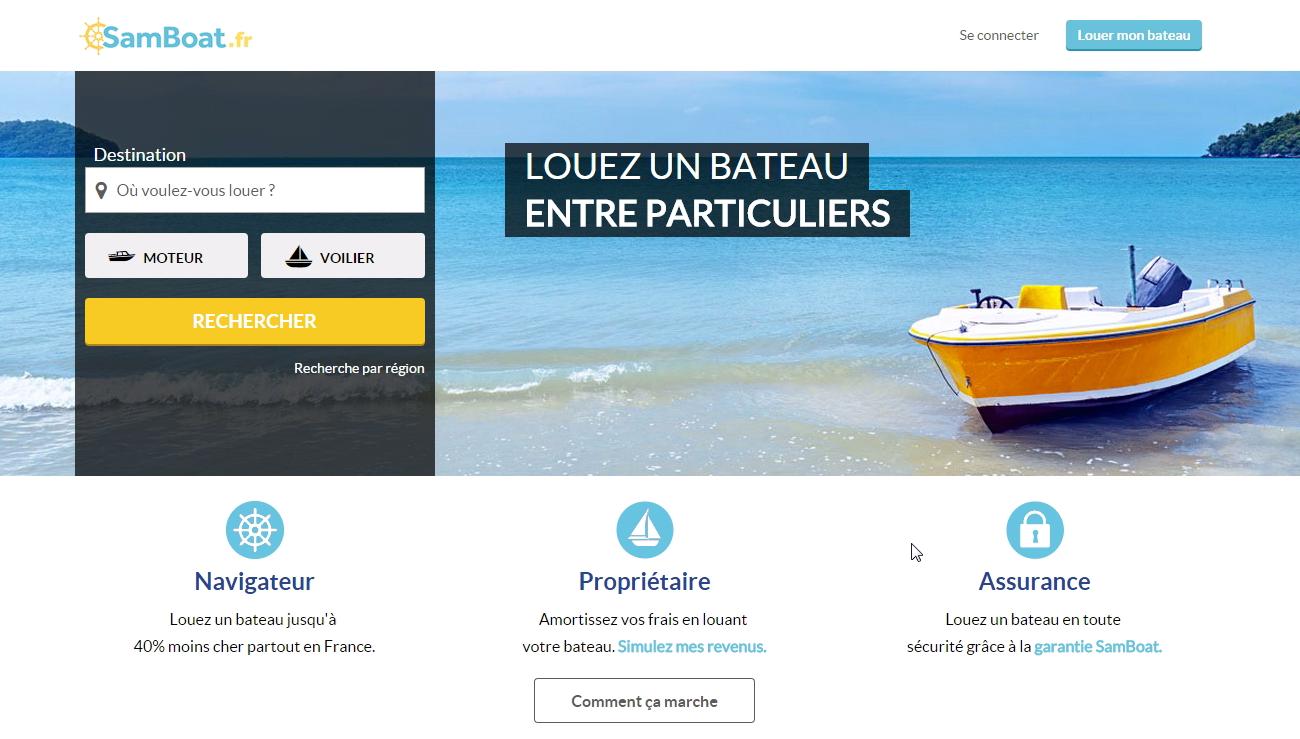 SamBoat : l'application pour louer un bateau en quelques clics