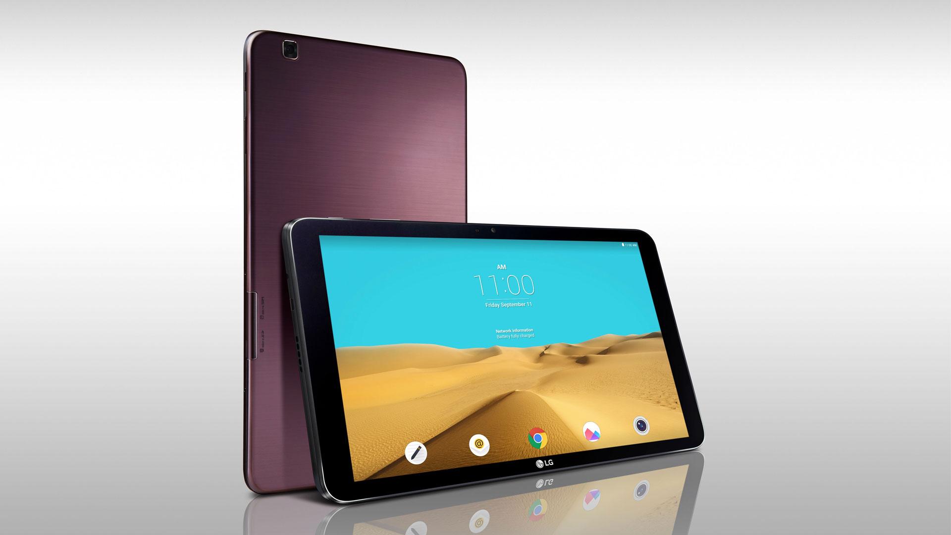 LG dévoile sa tablette Android G Pad 2 au format 10 pouces