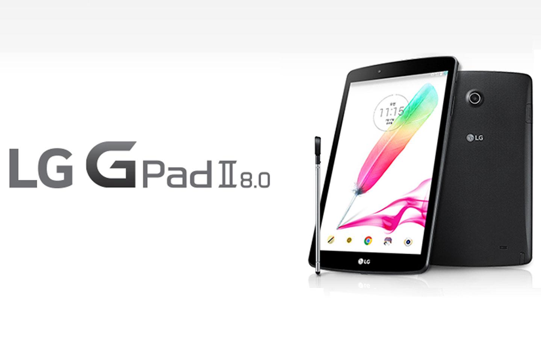 Tablette LG : La LG G Pad 2 a format 8 pouces à venir
