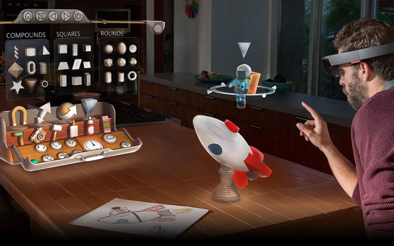 Microsoft HoloLens : Disponible dès 2016 pour les développeurs