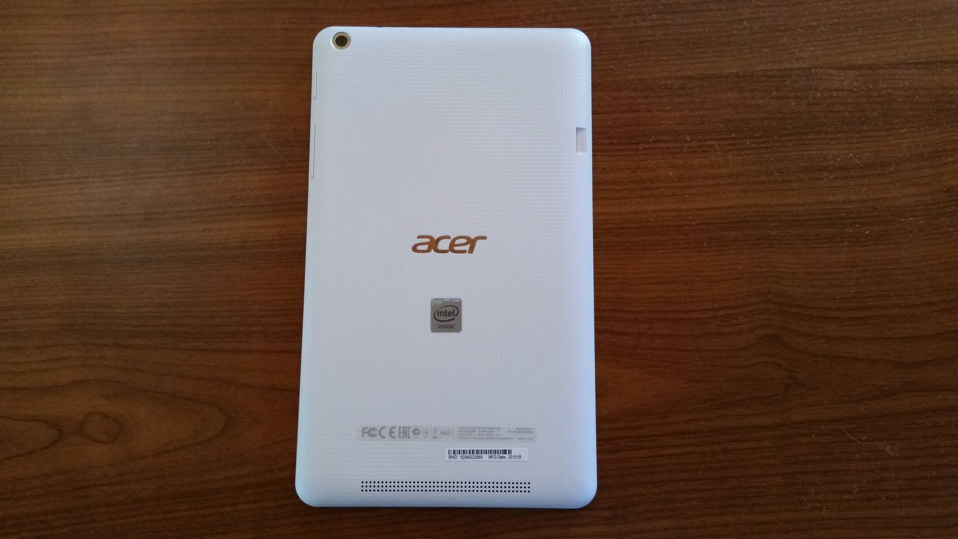 Test tablette tactile Acer Iconia One 8 (B1-820 ...