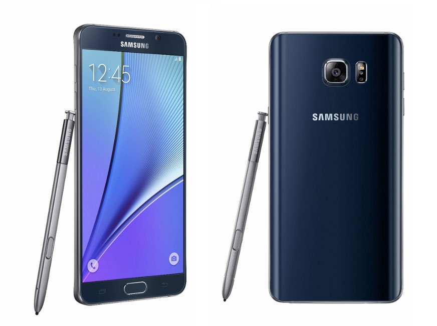Samsung officialise le Galaxy Note 5