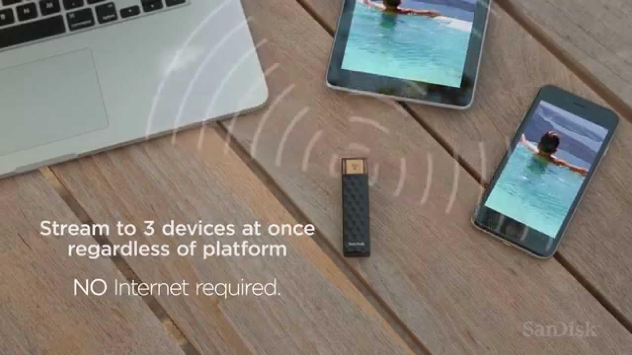 SanDisk lance une nouvelle clé USB WiFi : le Connect Wireless Stick