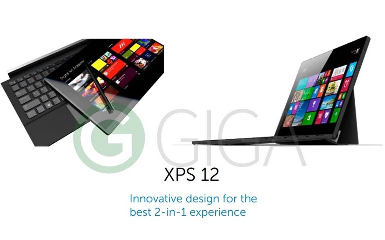 Dell XPS 12 : un PC Hybride sous Windows 10 avec un écran 4K