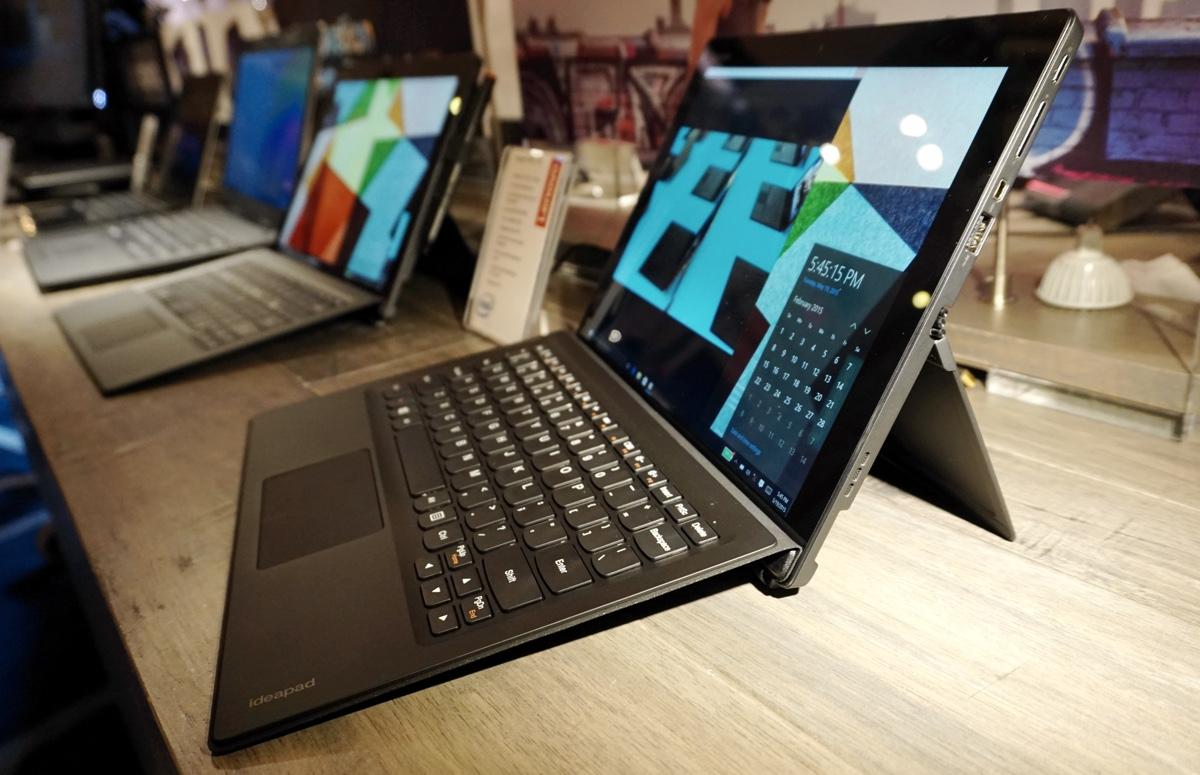 [IFA 2015] Le Lenovo Ideapad Miix 700 : une pâle copie de la Surface de Microsoft ?