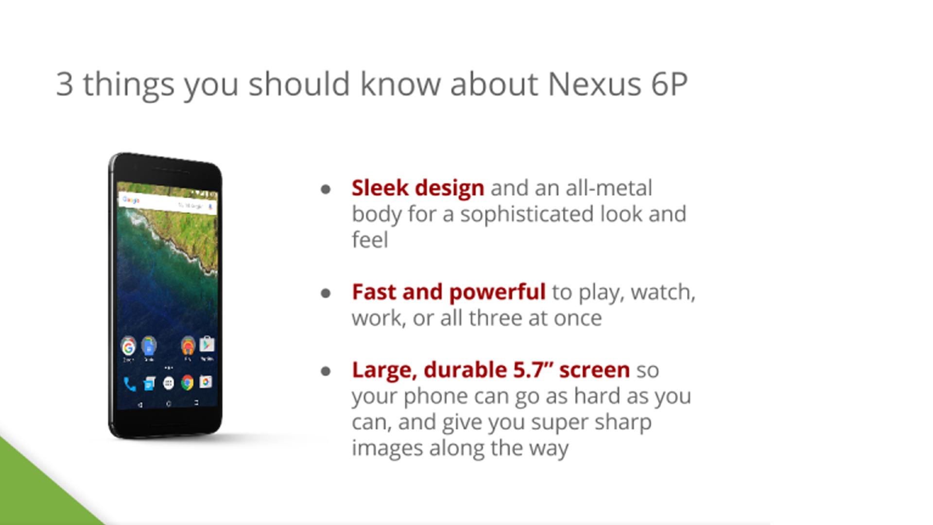 Google Nexus 6P : de nouvelles photos officielles