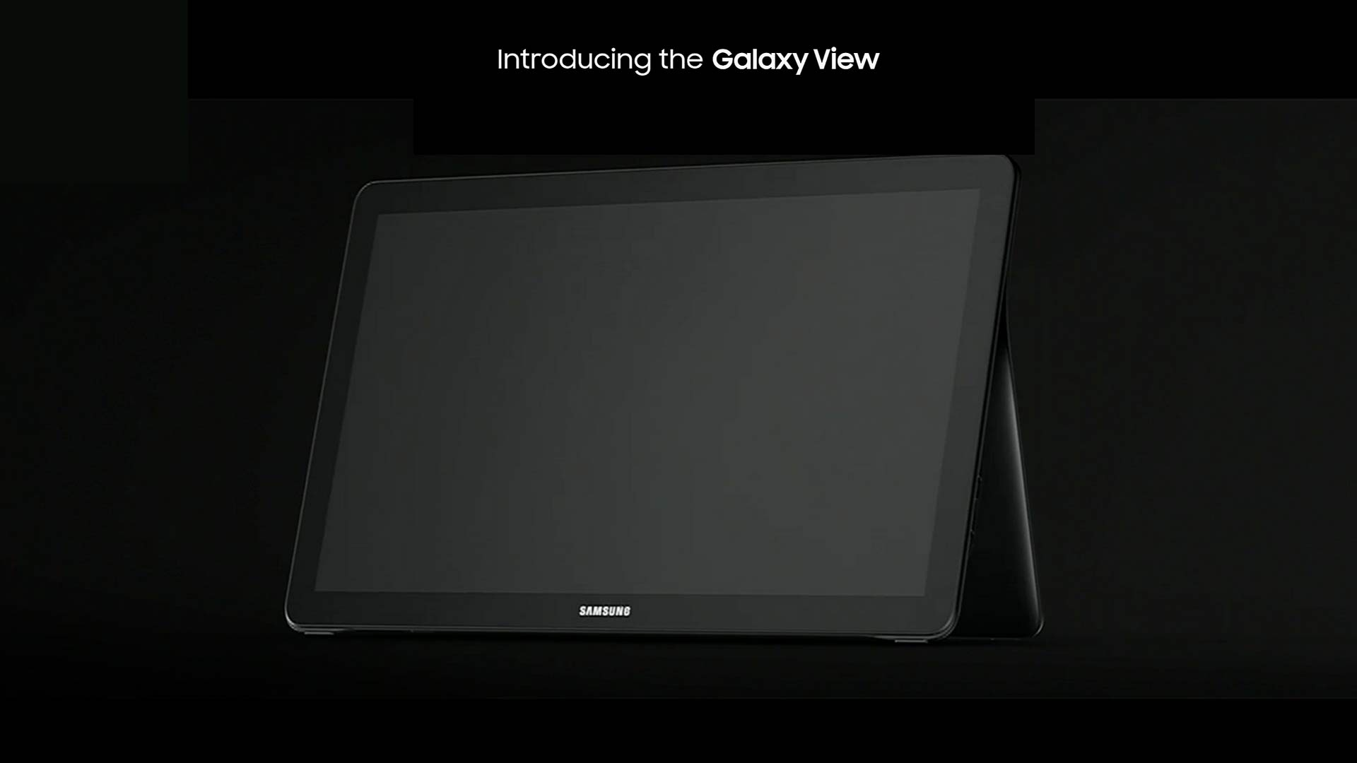 Galaxy View, on commence à en savoir plus sur la tablette géante de Samsung