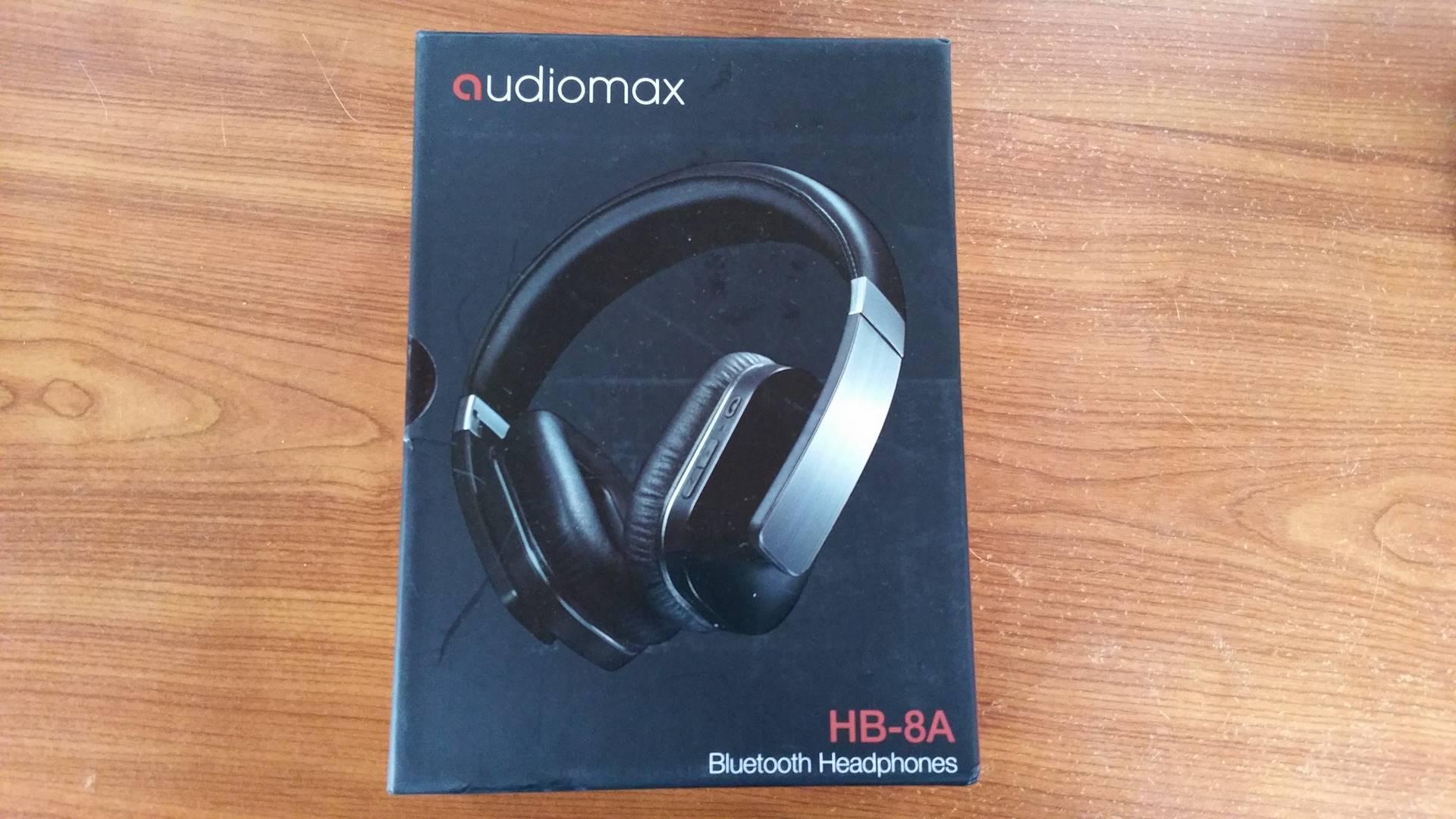 Test casque audiomax