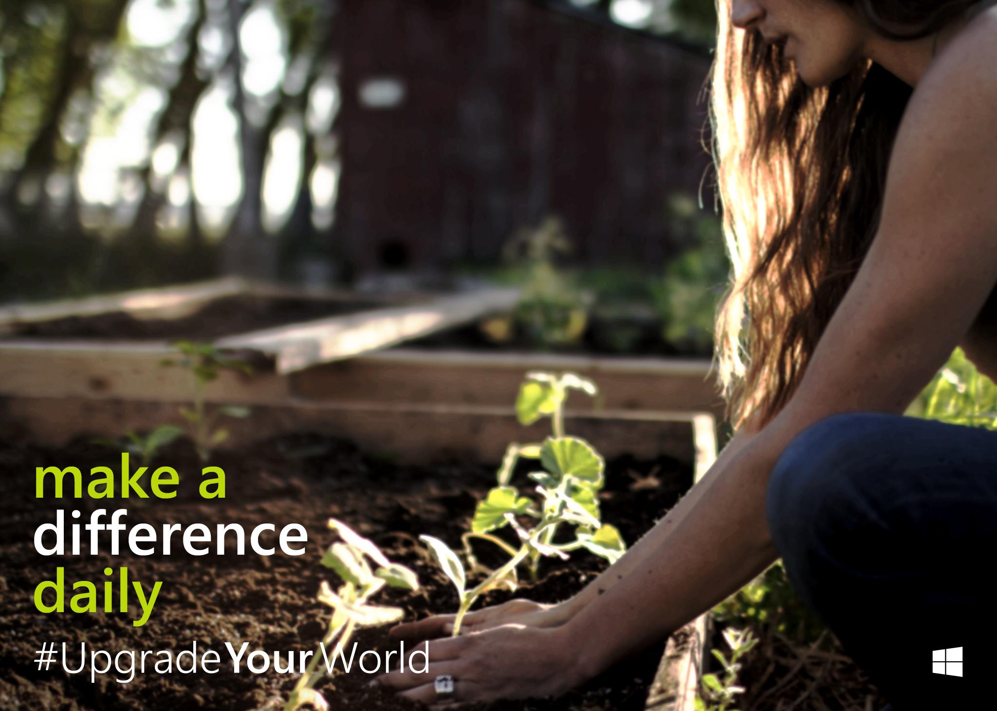#UpgradeYourWorld : Quelle association soutenez-vous?