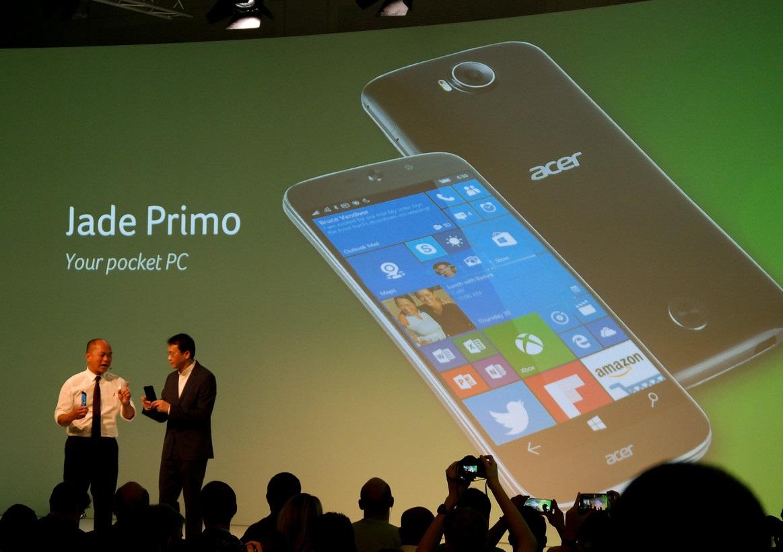 [IFA 2015] Acer Jade Primo : un «PC phone» sous Windows 10 selon le constructeur