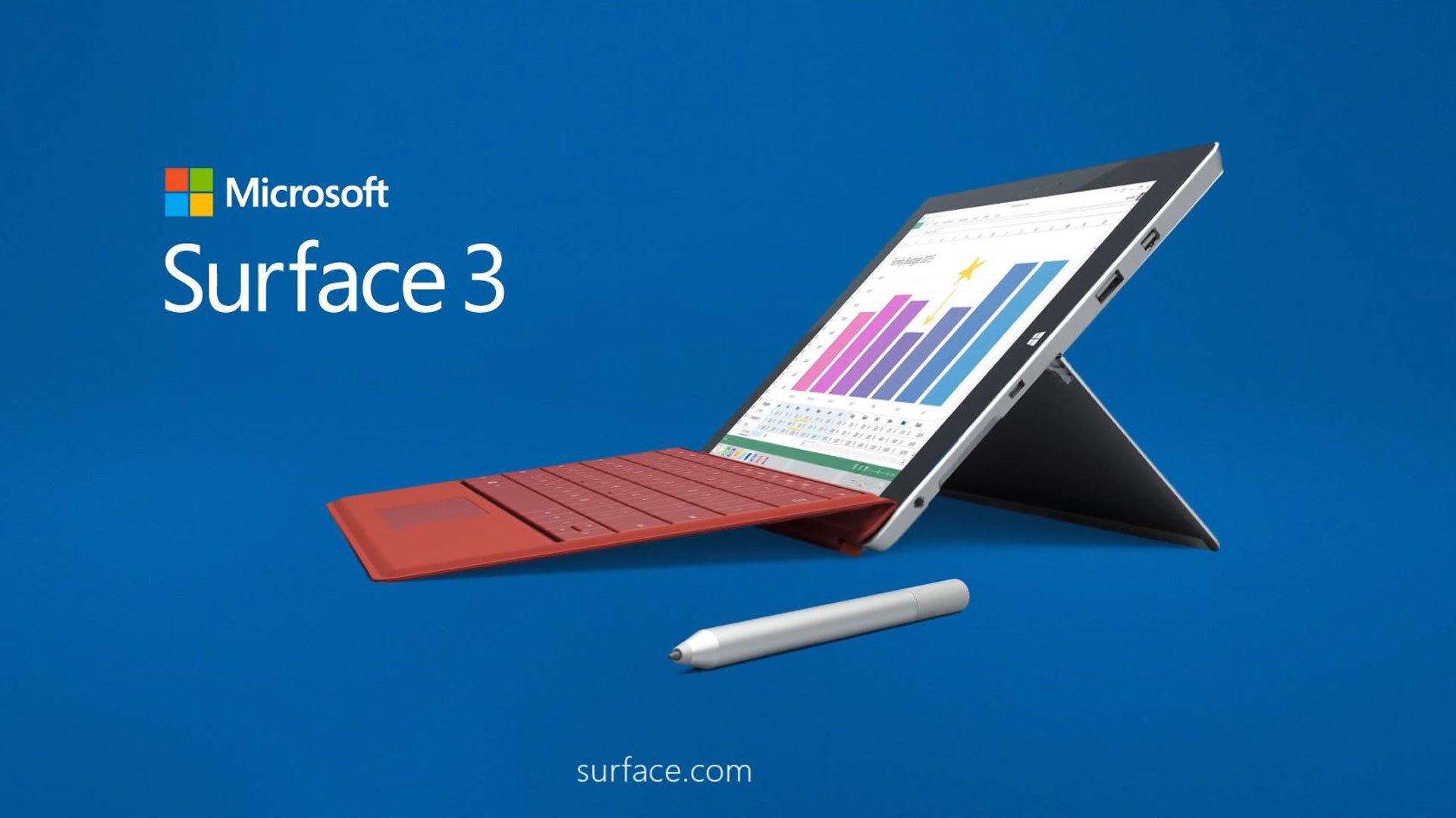 Microsoft Surface 3 : la tablette d'entrée de gamme disparaîtra dès décembre 2016